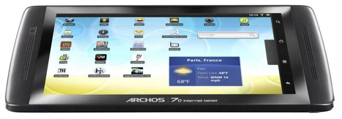 Планшет Archos 70 internet tablet фото 3